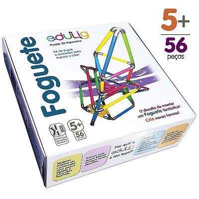 Quebra-cabeça Edulig Puzzle 3D Foguete