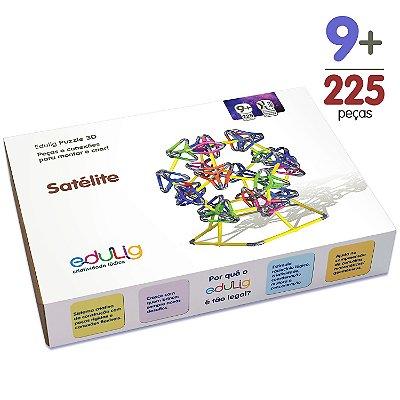 Quebra-cabeça Edulig Puzzle 3D Satélite