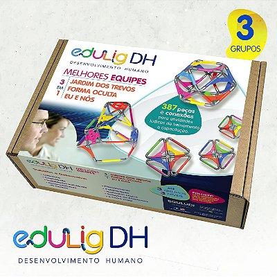 Edulig DH - Desenvolvimento Humano - Melhores Equipes - 3 Dinâmicas para até 3 Grupos