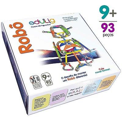 Quebra-cabeça Edulig Puzzle 3D Robô