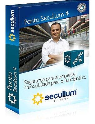 Anuidade do Sistema Secullum Ponto 4 até 200 colaboradores + treinamento remoto de 2 horas + suporte técnico ilimitado + atualização de versão + 200 MB para backup na nuvem