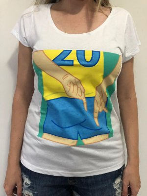 Camiseta Feminina Sinais de Vôlei 20