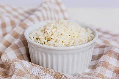 Arroz Branco 100g | Porção Individual | Produto congelado e acondicionado a vácuo