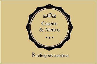 Kit Caseiro & Afetivo | Porção para duas pessoas |Custo Médio por Refeição: R$20,43