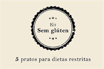 Kit Sem Glúten | Porção Individual | Custo Médio por Refeição: R$19,17