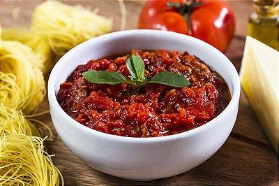 Molho de Tomate e Manjericão 400g | Serve duas pessoas
