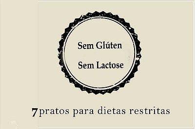 Kit Sem Glúten e Sem Lactose | Porção Individual |Custo Médio por Refeição: R$19,00
