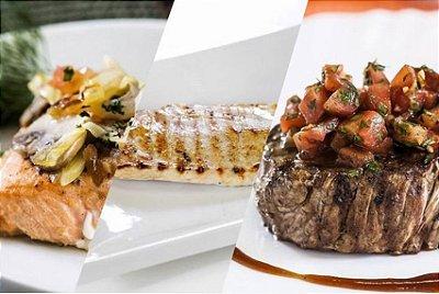 Semana Baixo Carbo 01 – 1129Kcal/dia – 7 dias (Café da Manhã, Lanche, Almoço, Lanche da Tarde e Jantar)