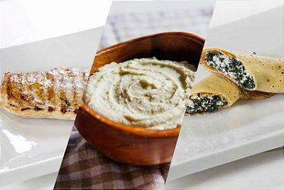 Kit Marmita Fit 7 Pratos | Porção Individual |Produto congelado e acondicionado a vácuo