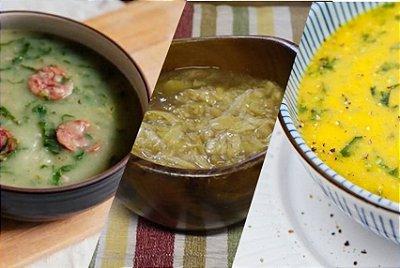 Kit 7 Sopas | Custo médio por sopa: R$10,90