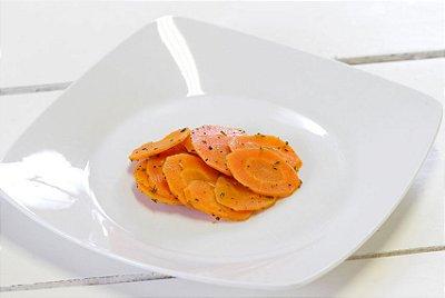 Cenoura Salteada com Alecrim e Gengibre 100G | Porção Individual |Produto acondicionado a vácuo