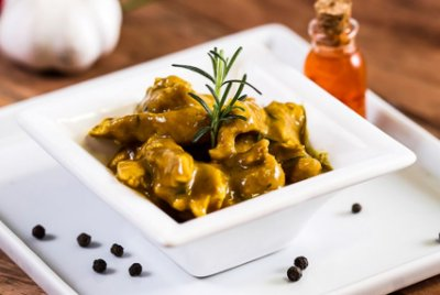 Filé de Frango ao Curry Picante 300g | Porção Individual | Produto acondicionado a vácuo