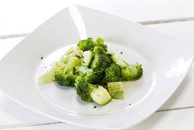Legumes no Vapor 100g | Porção Individual | Produto acondicionado a vácuo