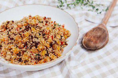 Quinoa com Frutas Secas (100g)