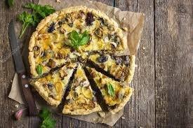 Torta de Cogumelo (porção para 8 pessoas)