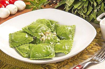 Ravióli Verde de Zucca (abóbora) 500g -  Produto fresco acondicionado em bandeja