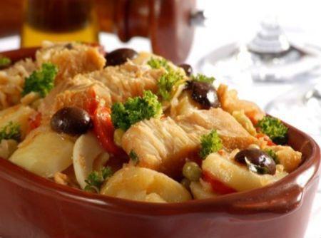 Bacalhau a portuguesa 500g | Produto fresco e acondicionado em bandeja
