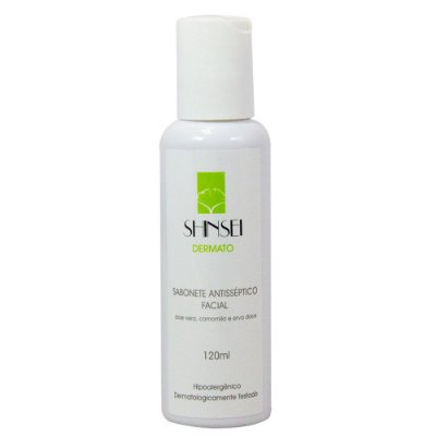 Sabonete Antisséptico Facial 120ml - Shinsei