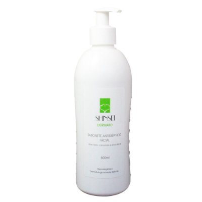 Sabonete Antisséptico Facial 500 ml - Shinsei