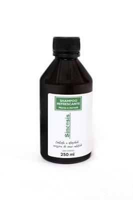 Shampoo Refrescante - Menta e Hortelã -250ml
