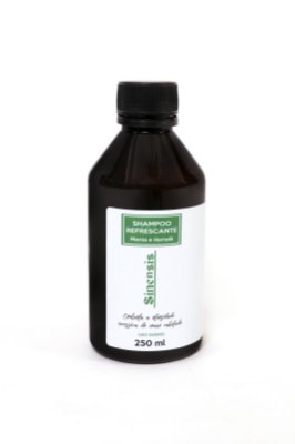 Shampoo Refrescante - Menta e Hortelã -250ml (TP)