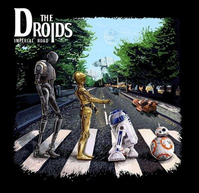 CAMISETA THE DROIDS