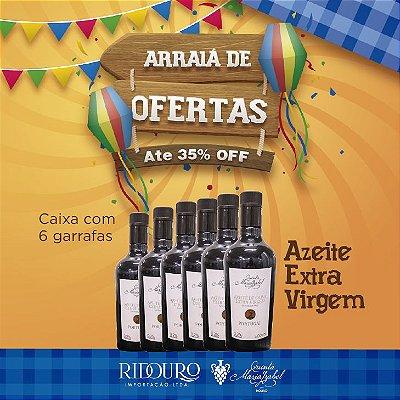 PROMOÇÃO DE SÃO JOÃO - Azeite Extra-Virgem, 500ml, caixa com 6 garrafas