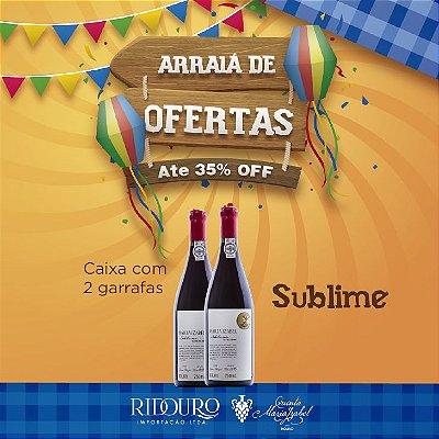 PROMOÇÃO DE SÃO JOÃO - Sublime Maria Izabel 2016, tinto, 750ml, caixa com 2 garrafas