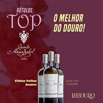 PROMOÇÃO TOP QMI - Maria Izabel Vinhas Velhas 2017, branco, 750ml, caixa com 3 garrafas