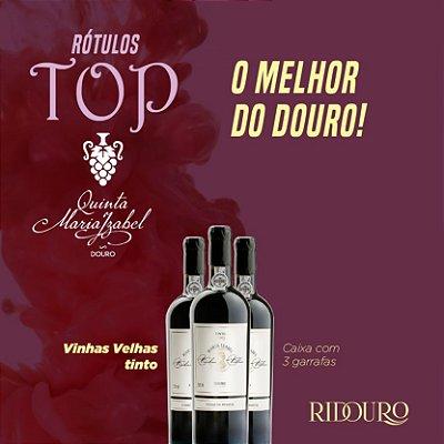 PROMOÇÃO TOP QMI - Maria Izabel Vinhas Velhas tinto 2017, 750ml, caixa com 3 garrafas