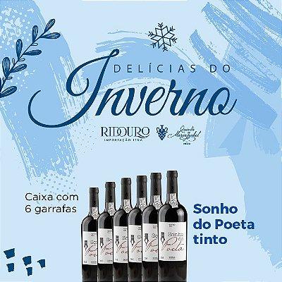 PROMOÇÃO DE INVERNO - Sonho do Poeta 2019, tinto, 750ml, caixa com 6 garrafas