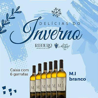 PROMOÇÃO DE INVERNO - M.I. 2019, branco, 750ml, caixa com 6 garrafas
