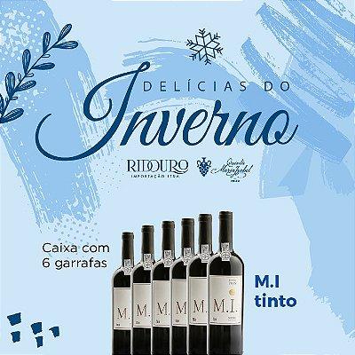 PROMOÇÃO DE INVERNO - M.I. 2018, tinto, 750ml, caixa com 6 garrafas