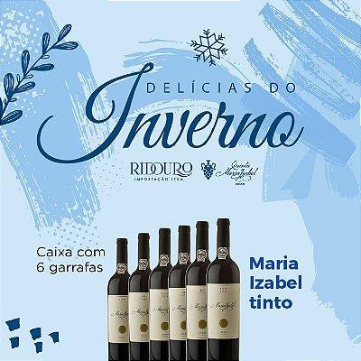 PROMOÇÃO DE INVERNO - Maria Izabel 2017, tinto, 750ml, caixa com 6 garrafas