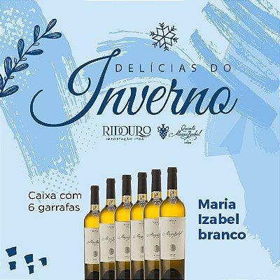 PROMOÇÃO DE INVERNO - Maria Izabel 2018, branco, 750ml, caixa com 6 garrafas