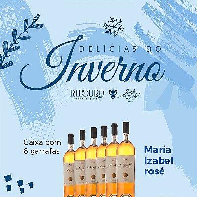 PROMOÇÃO DE INVERNO - Maria Izabel 2017, rosé, 750ml, Caixa com 6 garrafas