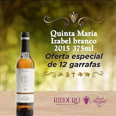 Quinta Maria Izabel, 2015, branco, 375ml, caixa com 12 garrafas