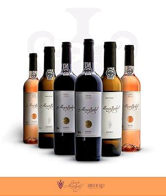 Maria Izabel, 750ml, em caixa com 6 garrafas de vinho tinto, rosé e/ou branco