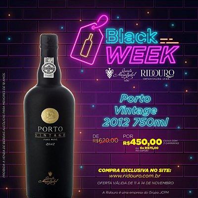 Promoção Black Week 2019 - Quinta Maria Izabel, Porto Vintage 2012, 750ml, caixa com 3 garrafas