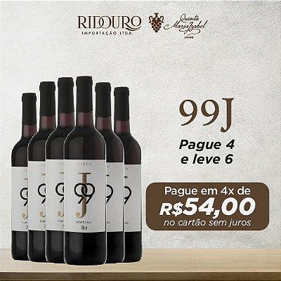 Promoção 99J, tinto, 750ml, caixa com 6 garrafas