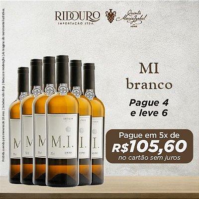 Promoção M.I. 2018, branco, 750ml, caixa com 6 garrafas