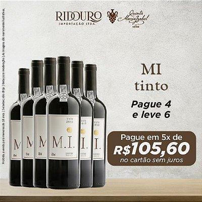 Promoção M.I. 2017, tinto, 750ml, caixa com 6 garrafas