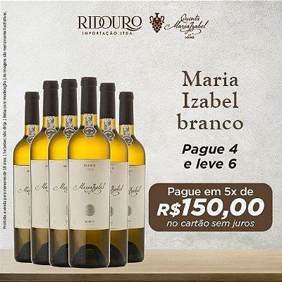 Promoção Maria Izabel 2018, branco, 750ml, caixa com 6 garrafas