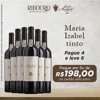 Promoção Maria Izabel 2017, tinto, 750ml, caixa com 6 garrafas