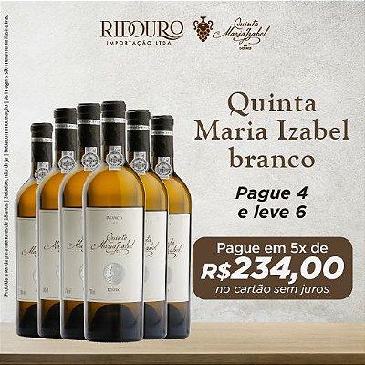 Promoção Quinta Maria Izabel, 2017, branco, 750ml, caixa com 6 garrafas