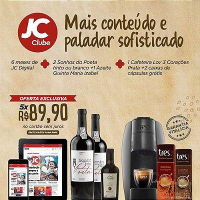 EXCLUSIVO PARA PERNAMBUCO!! - Promoção Ridouro + JC Clube + 3 Corações