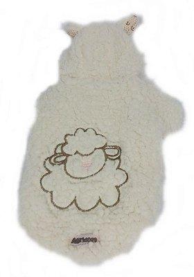 Casaquinho de pelo de ovelha