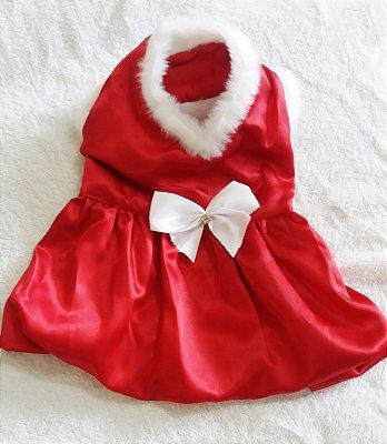 Vestido de Natal Balonê