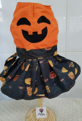 Vestido Abóbora Halloween