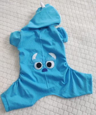 Pijama Kigurumi do Sulley ( Monstros )